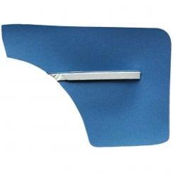 Rear Quarter Panels 1962-`64 2-Door/Convertible (BLUE DUO-TONE) pair