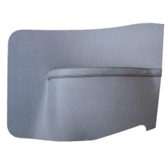 Rear Quarter Panels-Plain 1948-1962 (2-Door/Convertible) Pair LIGHT BLUE