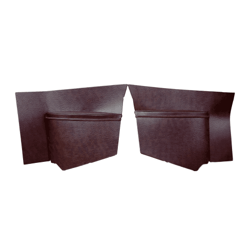 Rear Quarter Panels-Plain 1953-1962 (Traveller) Pair MAROON