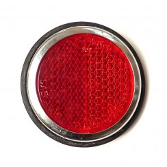 "Rear Red Reflector - 2.1/2""Round (Traveller Rear Post)"