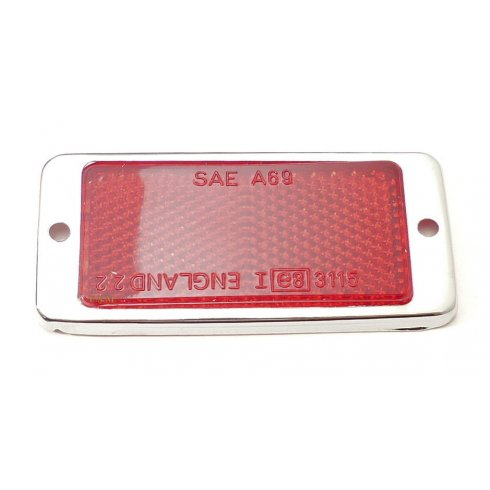 Rear Red Reflector-Rectangular (Van and Pick Up) LUCAS RER22