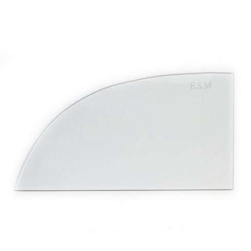 Rear Side Window Glass - Toughened - 2-Door Saloon Only