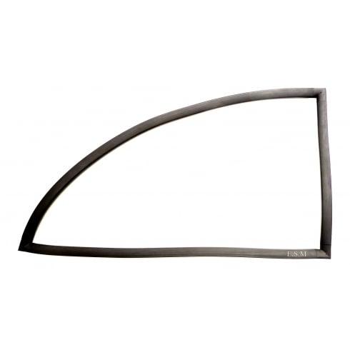 Rear Side Window Rubber L/H (2-Door) Top Quality