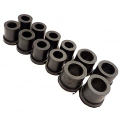 Rear Spring/Shackle Bush Kit (Rubber) Van/Pick-Up