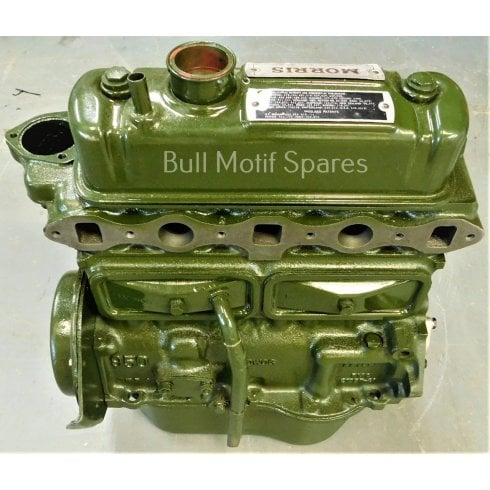 Reconditioned 948cc Lead-Free Engine - DUPLEX TIMING CHAIN & SPIN-ON OIL FILTER - MUST BE ORDERED WITH SURCHARGE PART NO. 9M101SC