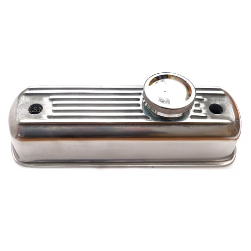 Rocker Cover-Polished Alloy (No Breather Tube)
