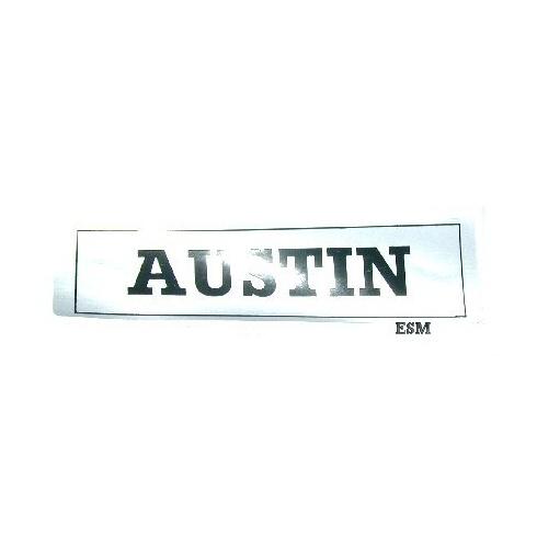 "Rocker Cover Sticker ""AUSTIN"""