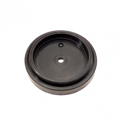 "Rubber Base For 2.1/2"" Reflector - Correct Shape - Made by ESM"