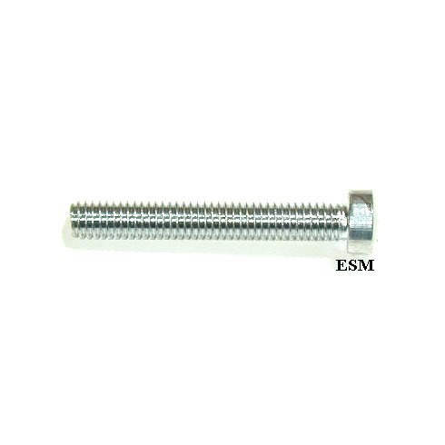 Screw-Interior Window Winder Handle-Chrome