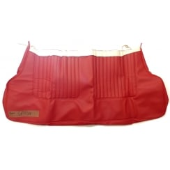 Seat Cover - Rear - 1964-71 - Base Only - 2-Door / Convertible - Vinyl CHEROKEE RED (TRM6950R)