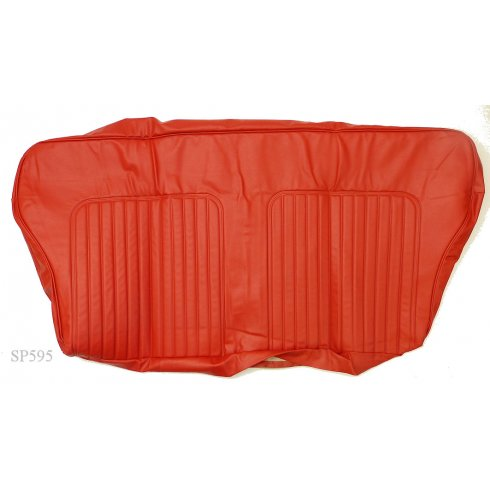 Seat Cover - Rear - 1964-71 - Squab Only - Traveller - Vinyl CHEROKEE RED (TRM6952R)