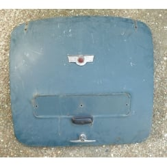 SECOND-HAND Original Boot Lid (Steel) Early Type - MM & Series II (Will Fit Later Models) *REQUIRES LOWER REPAIR*