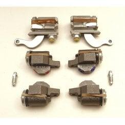 Set of 4 Front & 2 Rear Brake Cylinders - GENUINE