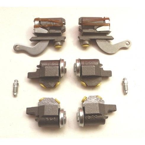 Set of 4 Front & 2 Rear Brake Cylinders - PATTERN *Minor 1000 models ONLY*