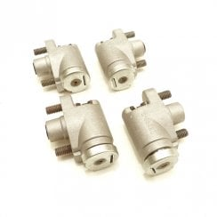SET of 4 Front Brake Cylinders - MM & Series II (Aluminium) AAA475 / 69107