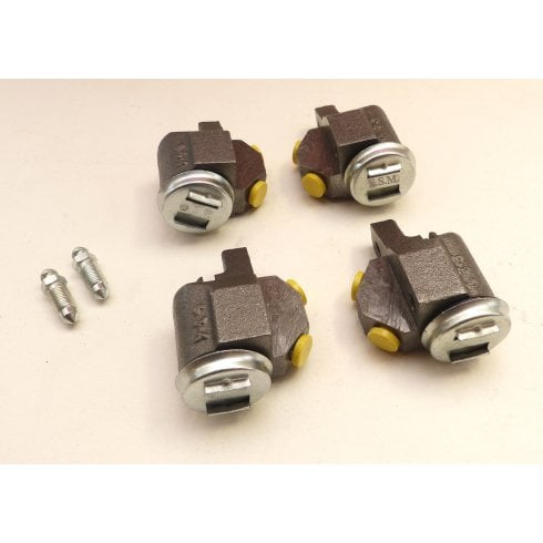 Set of 4 Front Brake Cylinders - PATTERN *NOT MM & SERIES II* (GWC110 GWC111)