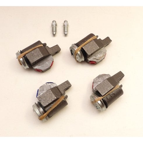 Set of 4 Front Brake Cylinders R/H - GENUINE *NOT MM & SERIES II*