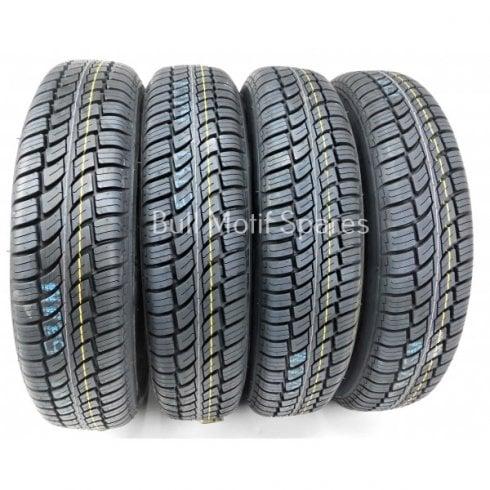 SET of 4 Tyres-155/80/14 TOYO Radial