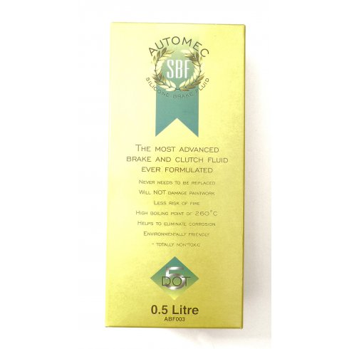 Silicone Brake Fluid 1/2 Litre