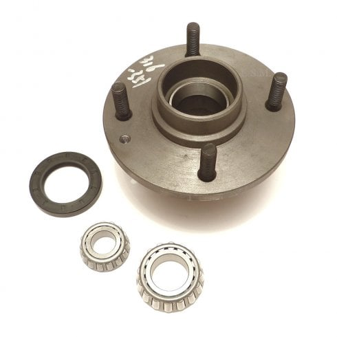 Steel Hub Assembly - FORD BASED DISC KIT (With Bearing Studs & Seal)