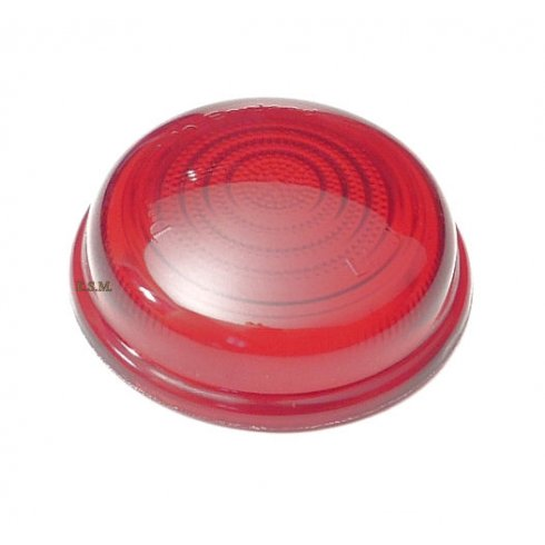 Stop/Tail Light Lens (Flat Red) LUCAS L488 Type