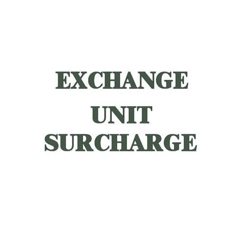 Surcharge On Reconditioned 1098cc Gearbox
