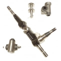 Swive Pin Leg ( King Pin ) With Top & Bottom Trunnions L/H