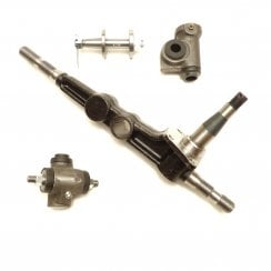 Swivel Pin Leg / King Pin With Top & Bottom Trunnions R/H (8cwt Van/Pick-Up) *Large Steering Arm*