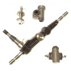 Swivel Pin Leg ( King Pin ) With Top & Bottom Trunnions R/H