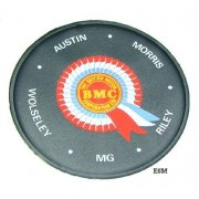Tax Disc Holder-BMC Rosette