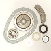 Timing Chain Replacement Kit - Single Row - With Seal,Gasket,Chain,Tensioners & Gears - Fits All OHV Models