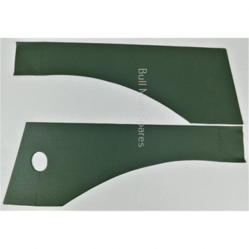Traveller Rear Compartment Panels (SUEDE GREEN)