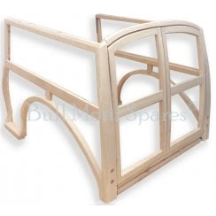 Traveller Replacement External Wood Kit - Late Type **DOUBLE LAMP HOLE** (Wood Only) ***ASSEMBLED***