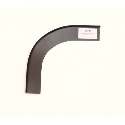 Van Body Roof Gutter Repair Section L/H Front Corner *Manufactured in the UK by ESM*