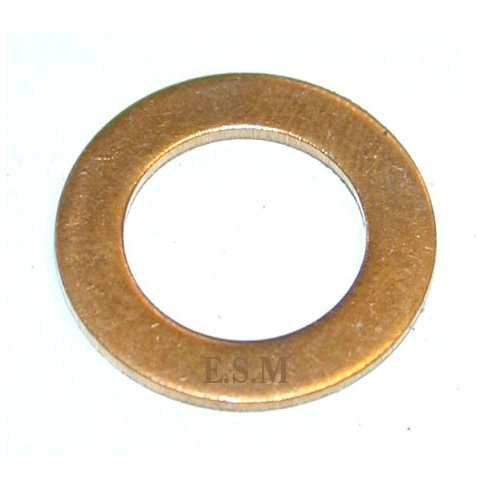 "Washer - Temperature Transmitter Blanking Plug & Oil Pipe Banjo Screw (Copper) 1098cc (1B3664) 5/8"" I.D."