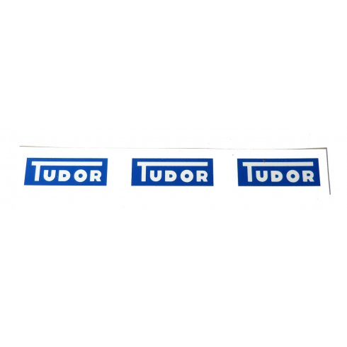 "Windscreen Washer Bottle Sticker ""TUDOR"""
