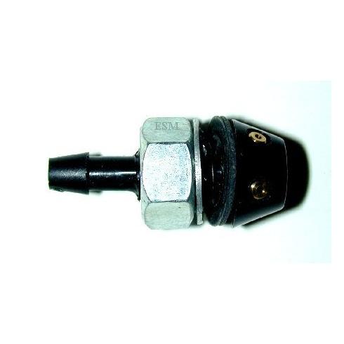Windscreen Washer Jet-Black Plastic (Twin)