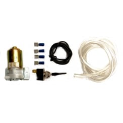 Windscreen Washer Kit (Electrical Pump) with LEVER Type Switch (13mm Mounting Hole)