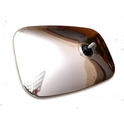 Wing Mirror Head (Large - Convex Glass) Stainless TEX