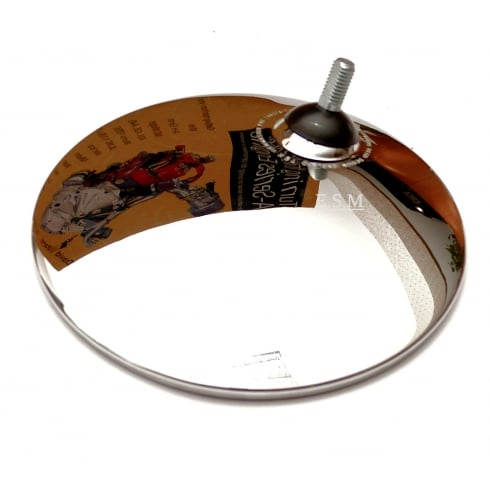 Wing Mirror Head (Round Convex Glass)