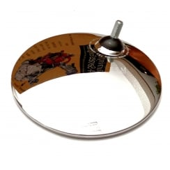Wing Mirror Head (Round Convex Glass) TEX