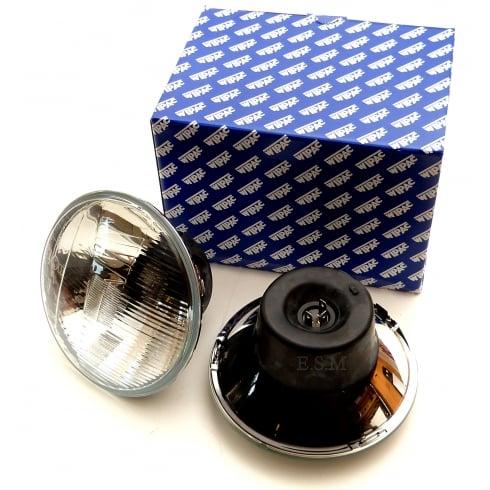 Wipac Halogen Headlamp / Headlight Kit (Pair) - R/H/Drive - No Pilot Light