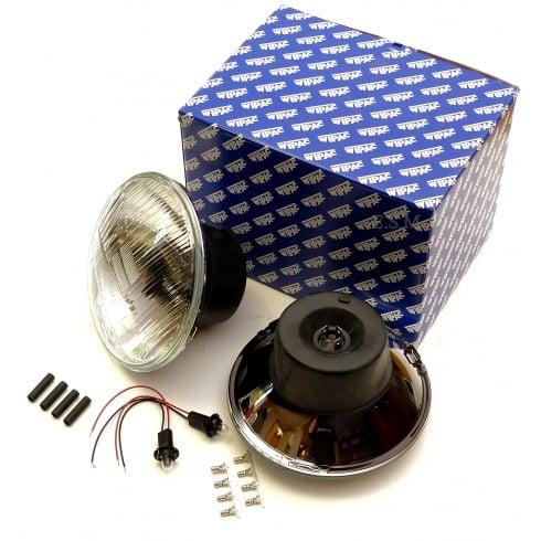 Wipac Halogen Headlamp / Headlight Kit (Pair) - R/H/Drive - With Pilot Light