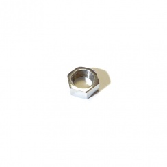 Wiper Wheelbox Nut (Late Split-Screen Models) Chrome Plated Brass
