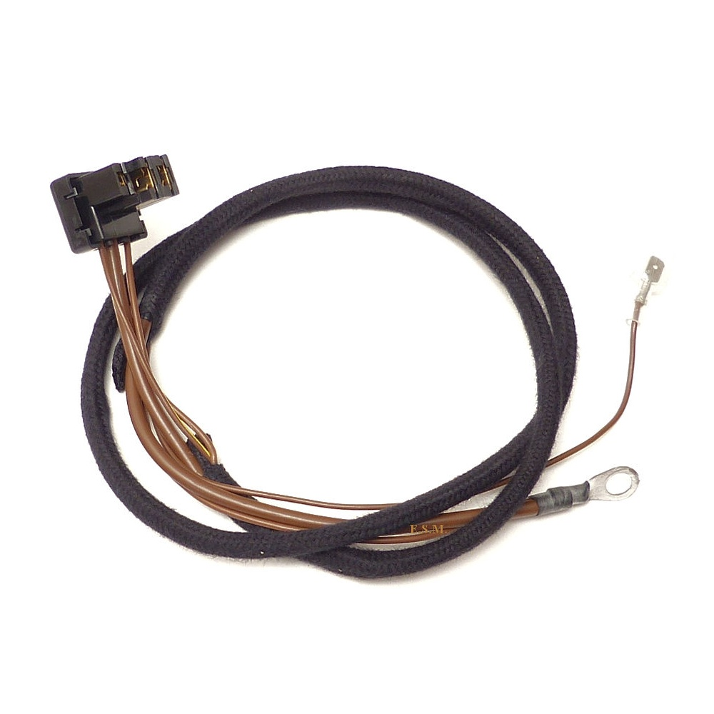 Wiring Harness For Alternator Top Quality Uk Made With Braided Wire Cover Outer Covering