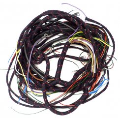 Wiring Loom - 1962 to 1963 Chassis Number 925555-On With Relay Flashers & Lucar Connectors *UK Made By Autosparks*