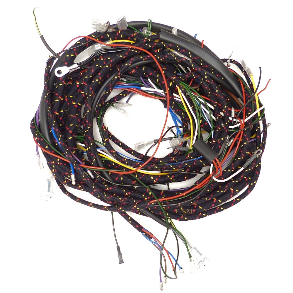 Wiring Loom 1965 To 1970 Van Pick Up Traveller With Key Start Electrical Uk