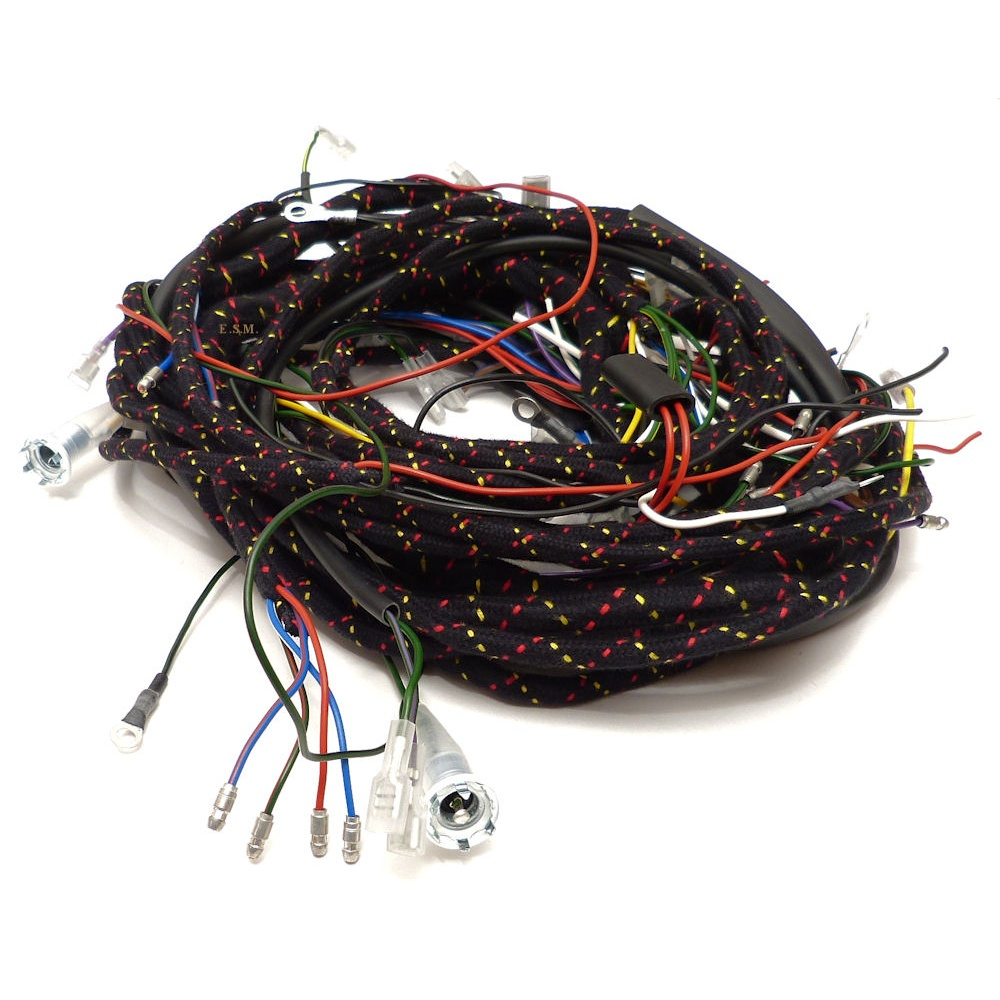 ... Wiring Loom - 1965 to 1970 Van/Pick-Up/Traveller With Key Start ...